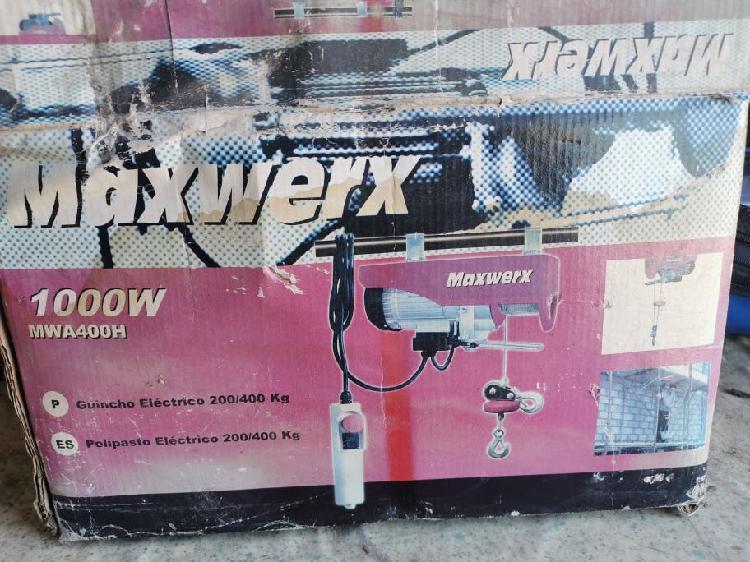 Polipasto eléctrico maxwerx