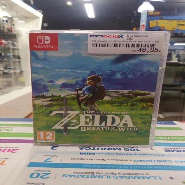 Zelda breath of the wild swi