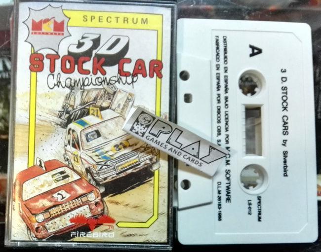 3d stock car championship pal españa cinta tape sinclair