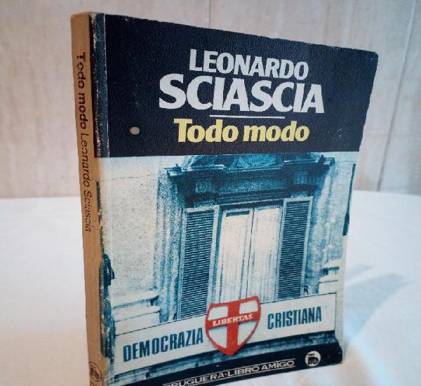 496-todo modo, democracia cristiana, leonardo sciascia, 1984