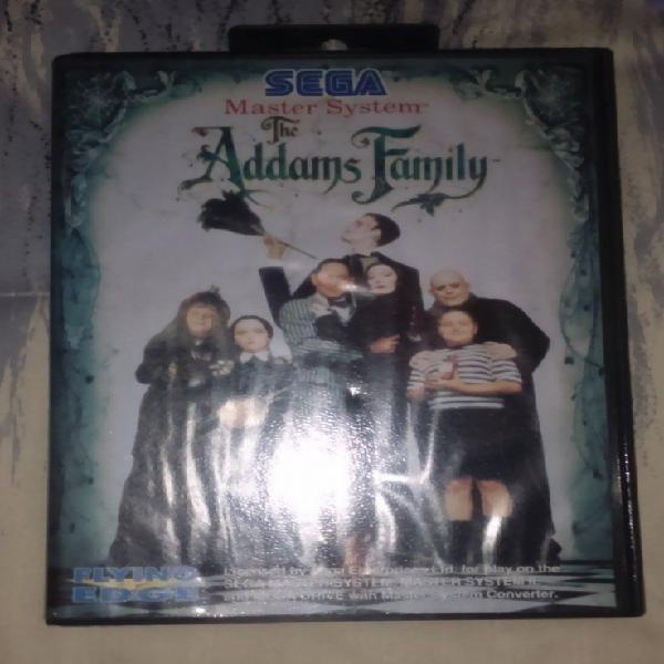 Addams family completo master system como nuevo