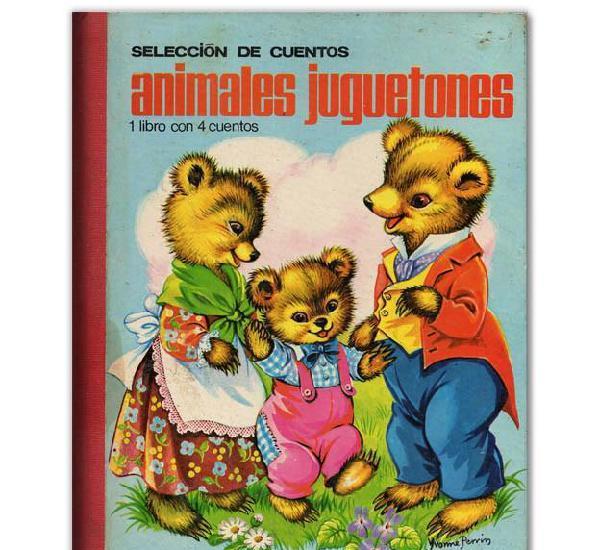Animales juguetones selección de cuentos