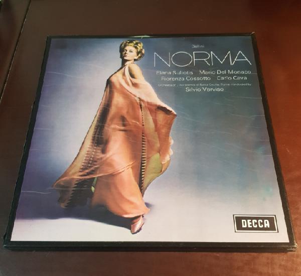 Bellini - norma - box 2 lps opera
