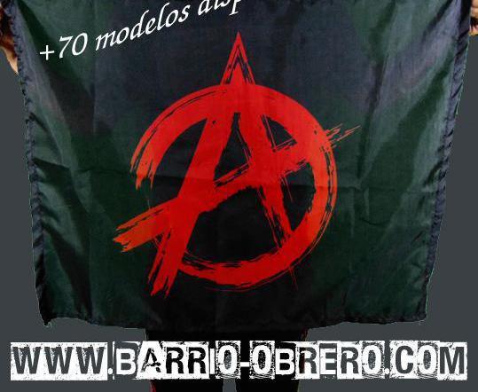Bandera símbolo anarquía. contra reembolso. más modelos