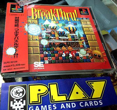 Break thru breakthru psx playstation jap completo buen