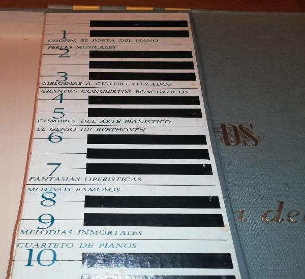 Carpeta incompleta, la magia del piano