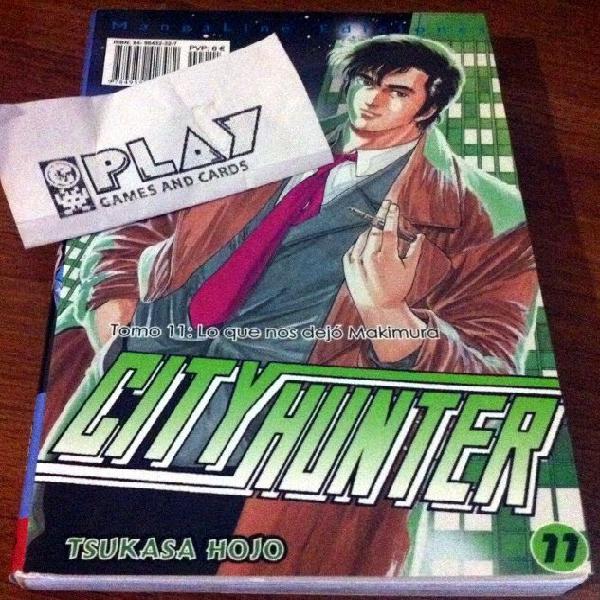 Comic city hunter nº 11 edicion mangaline nuevo tsukasa