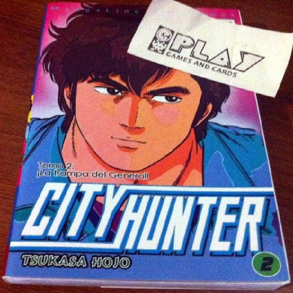 Comic city hunter nº 2 edicion mangaline nuevo tsukasa hojo