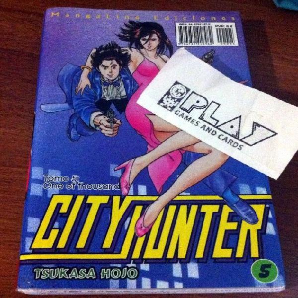 Comic city hunter nº 5 edicion mangaline nuevo tsukasa hojo