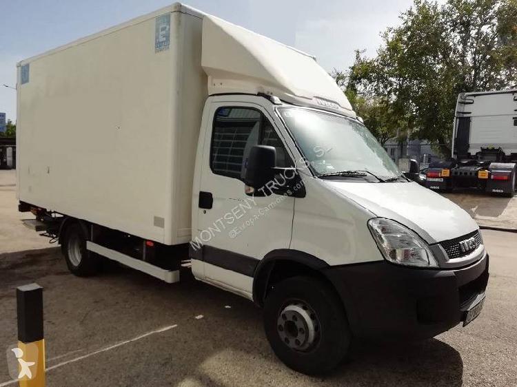 Camión iveco furgón daily 65c15 4x2 diesel euro 5 rampa