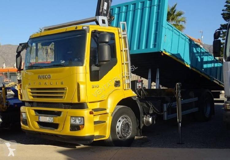 Camión iveco volquete stralis ad 190 s 31 4x2 euro 5 usado