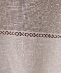 Cortinas color beige