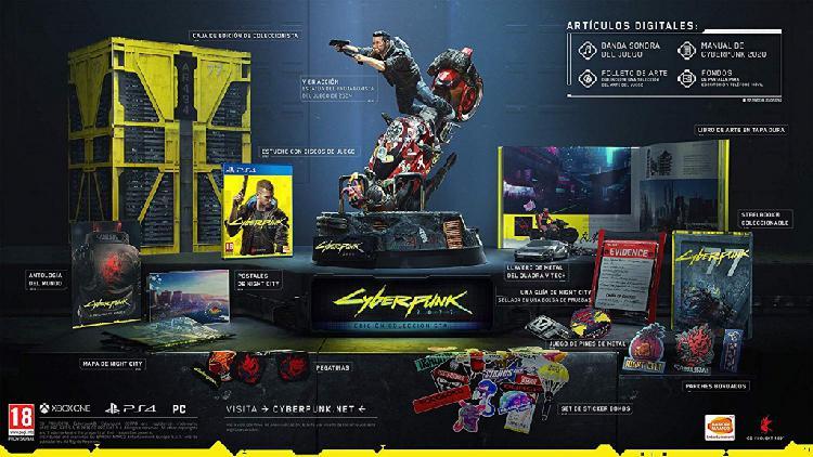 Cyberpunk 2077 edición coleccionista