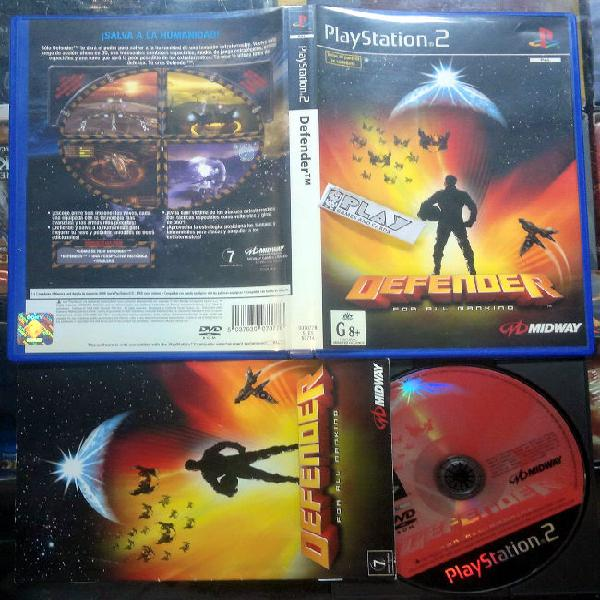 Defender for all mankind pal españa completo ps2
