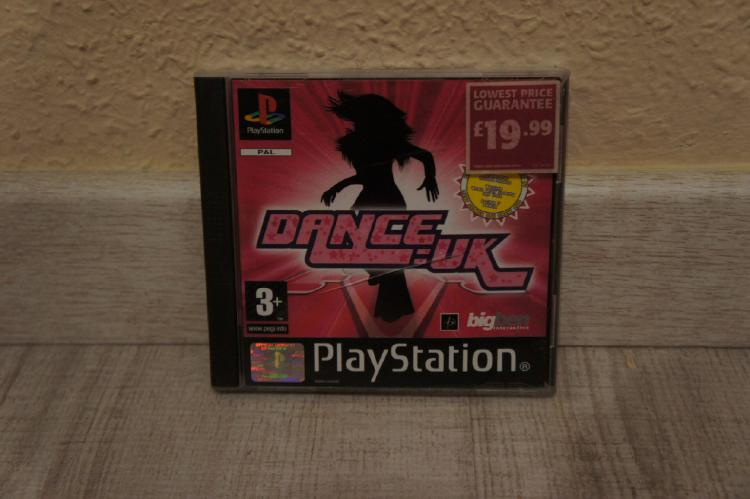 Dance uk playstation psx