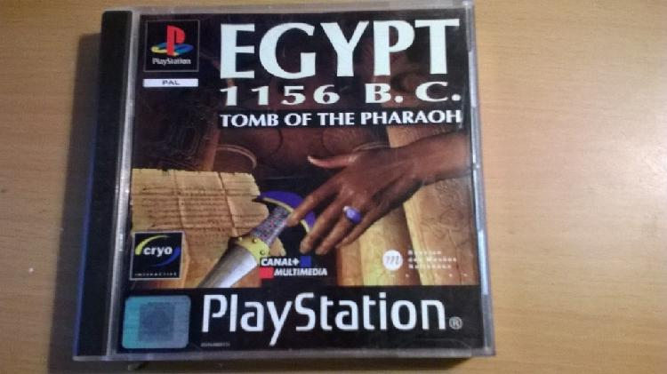 Egypt 1156 b.c. tomb of the pharaoh psx ps1 playstation pal