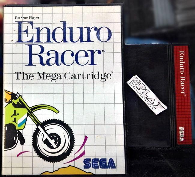 Enduro racer pal españa master system envio certificado/