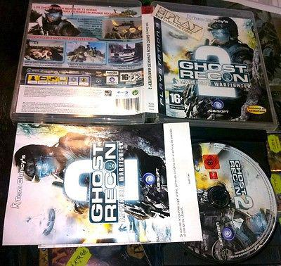 Ghost recon 2 advanced warfighter ps3 playstation 3 completo