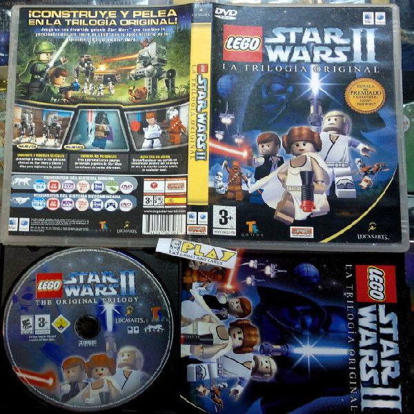 Lego star wars ii 2 la trilogia original para mac macintosh