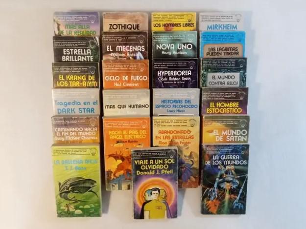 Lote ciencia ficción edaf. años 70