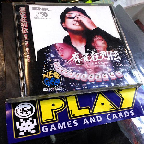 Mah jong mahjong story kyo retsuden neogeo neo geo cd jap