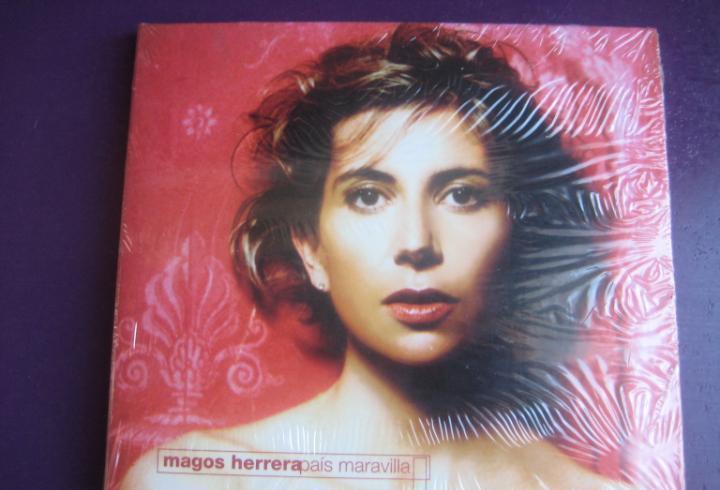 Magos herrera cd factoria precintado 2003 - país maravilla