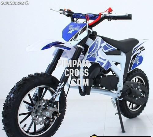 Mini moto cross infantil kombat 49cc