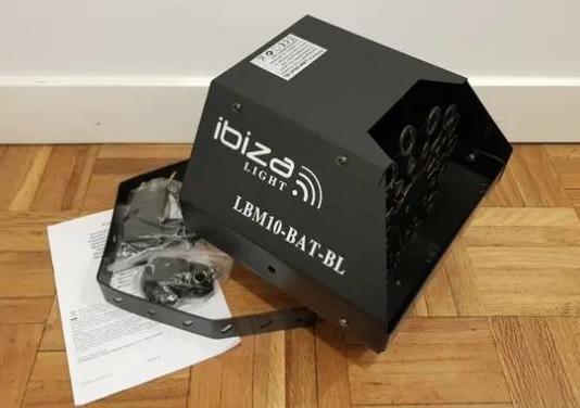 Máquina de burbujas ibiza lbm10bat-bl