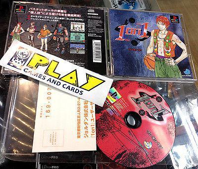 One 1 on one 1 psx playstation jap muy buen estado entrega