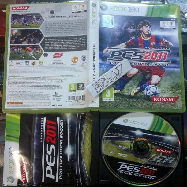 Pes 2011 pro evolution soccer pal españa disco muy buen