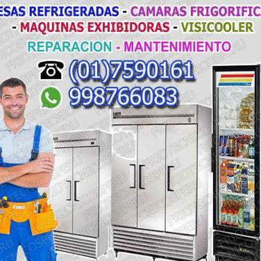 Reparaciones de camaras frigorificas
