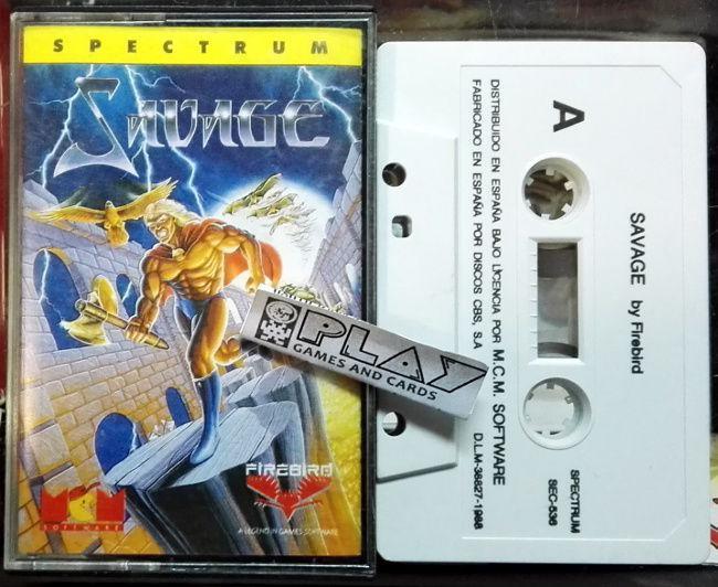 Savage pal españa firebird cinta tape sinclair spectrum