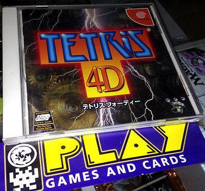Tetris 4d 4 d sega dreamcast jap buen estado entrega agencia