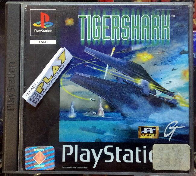 Tigershark tiger shark pal españa playstation psx ps1 psone