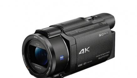 Videocamara sony fdr-ax53 4k solo 8 meses de uso