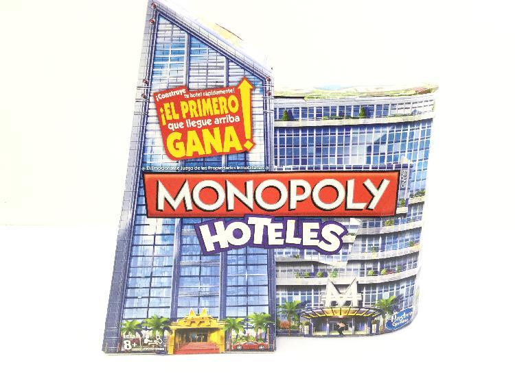 Juegos de mesa otros monopoly hotel