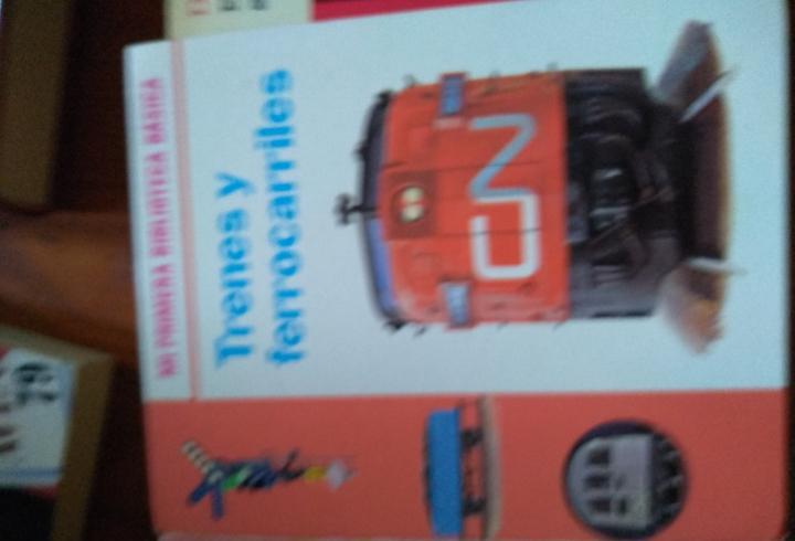 Trenes y ferrocarriles mi primera biblioteca básica