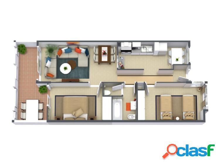 Ultimos apartamentos de 2 habitaciones a estrenar en valle san lorenzo
