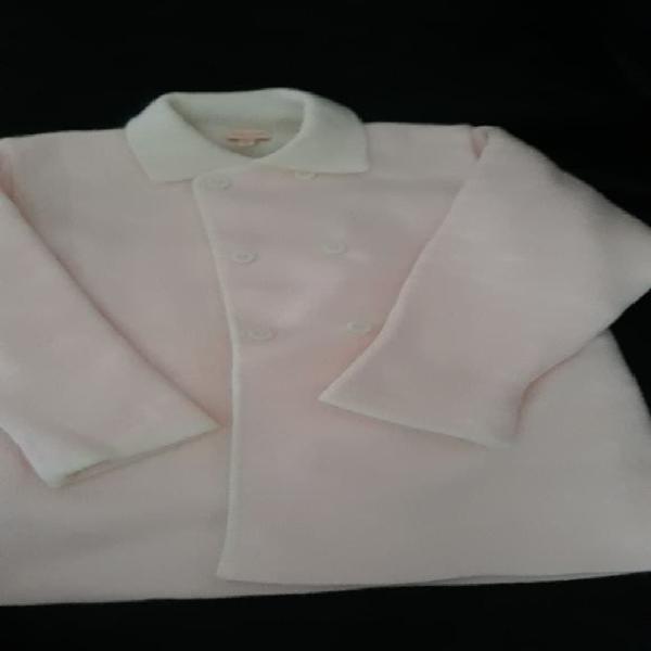 Abrigo gocco rosa 18 meses