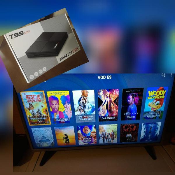 Android tv box configurado
