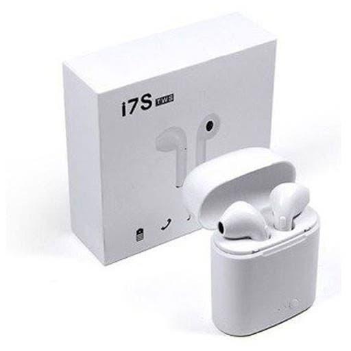 Audífonos inalámbricos i7s bluetooth.