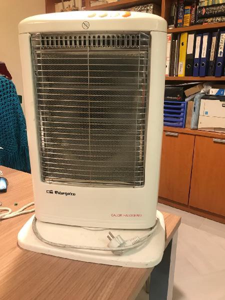 Calefactor alógeno orbegozo