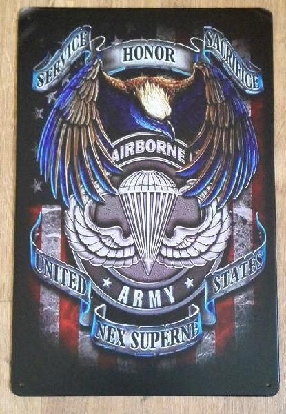 Cartel decoración united states army