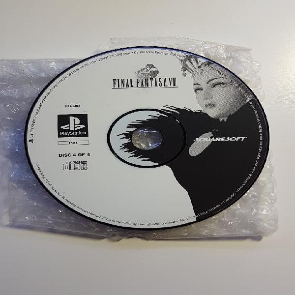 Cd 4 final fantasy viii 8 psx ps1 play 1