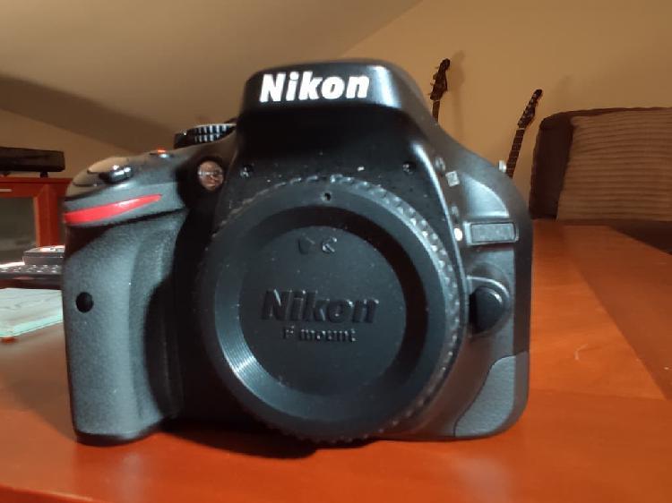 Cámara reflex digital nikon d5200
