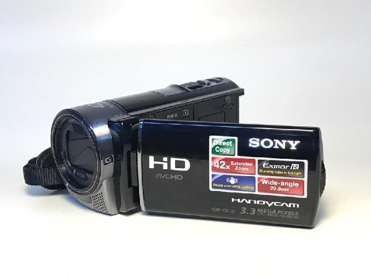 Cámara video sony hdr-cx130 (sd)