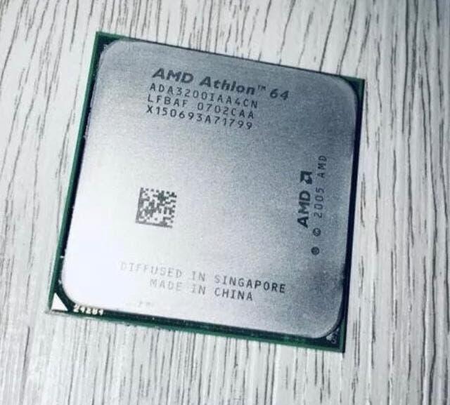 Cpu procesador amd athlon 64 3200+ 2ghz disipador