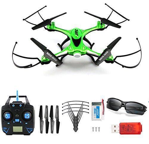 Dron jjrc h31 impermeable color verde