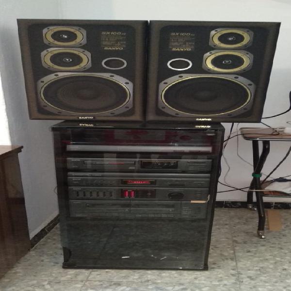 Equipo de audio sanyo