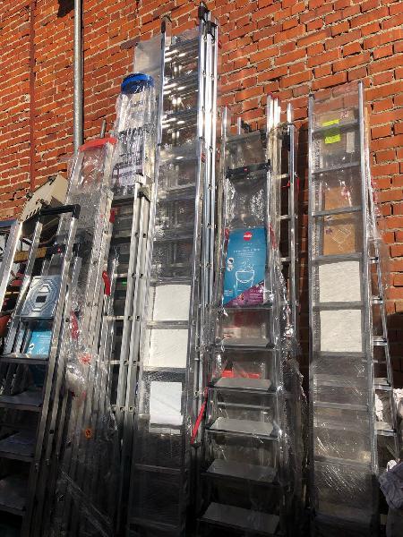 Escaleras aluminio nuevas